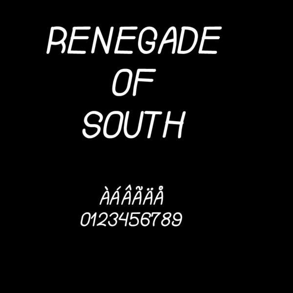 renegade-of-south