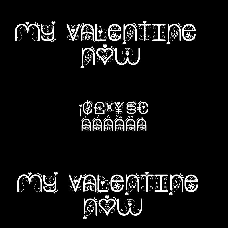 My Valentine Now